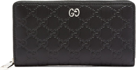 Gucci GG-debossed leather wallet