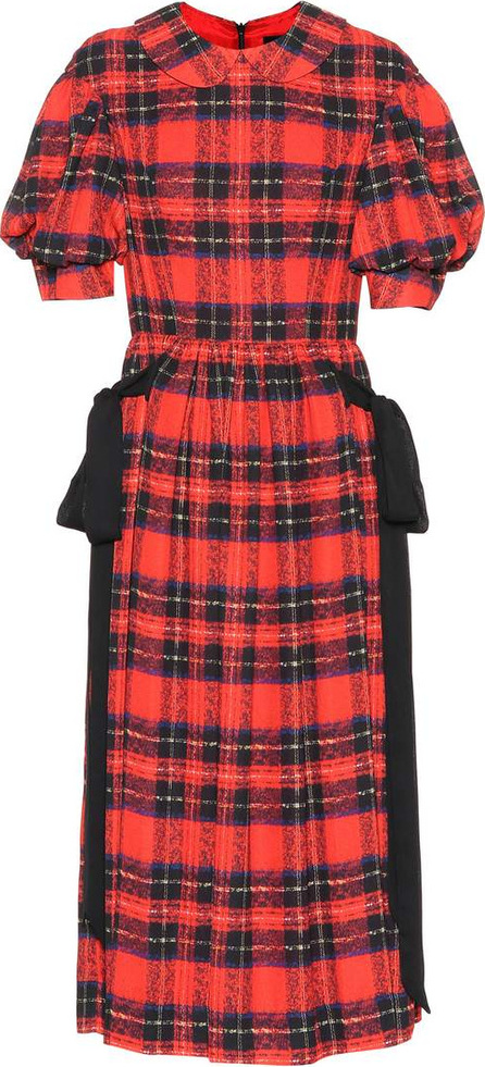 Simone Rocha Plaid midi dress