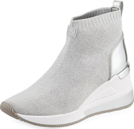 MICHAEL MICHAEL KORS Skyler Knit High-Top Bootie Sock Sneaker