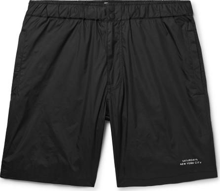 SATURDAYS NYC Nylon Shorts
