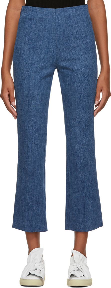 Rag & Bone Blue Hina Denim Trousers