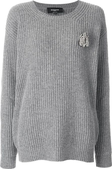 ROCHAS classic knitted sweater