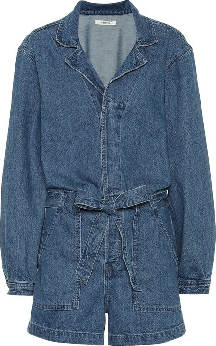 Grlfrnd Tianna denim playsuit