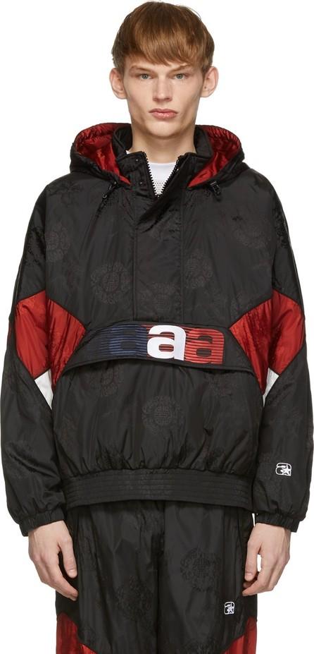 Alexander Wang Black Half-Zip Jacket