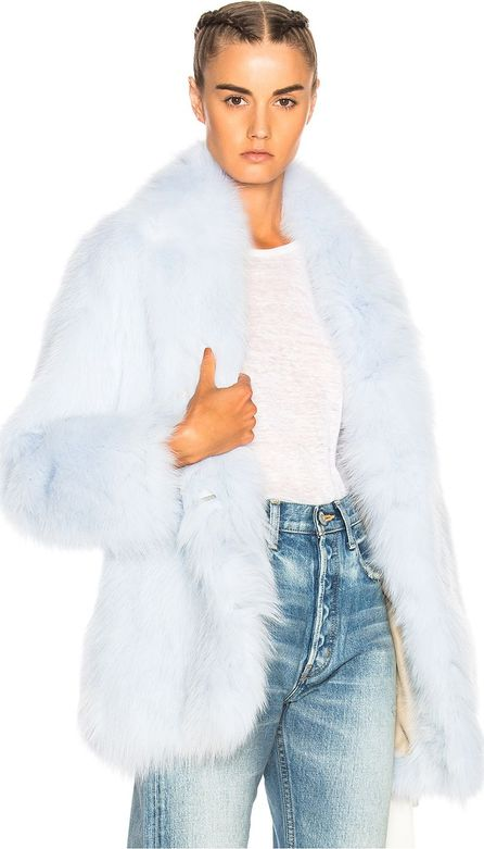 Sprung Frères Nevis Fox Fur Coat