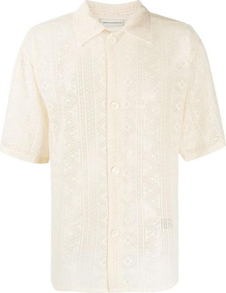 Drôle De Monsieur Laced Oversized shirt