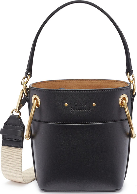 Chloe 'Roy' oversized ring small leather bucket bag