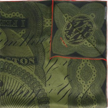 Givenchy dollar print scarf