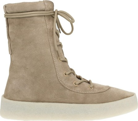 Yeezy lace-up boots