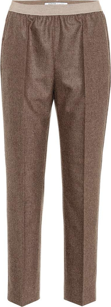Agnona Stretch wool and cashmere pants