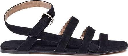 Alumnae Strappy slingback suede sandals