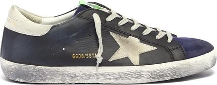 Golden Goose Deluxe Brand 'Superstar' colourblock patchwork sneakers
