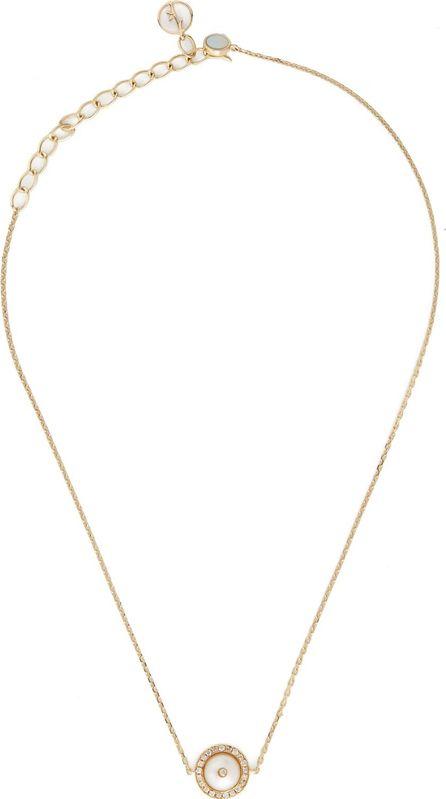 Anissa Kermiche Diamond, pearl & yellow-gold choker