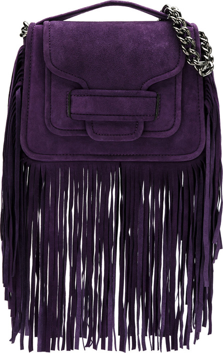 Andrea Bogosian Leather fringe bag