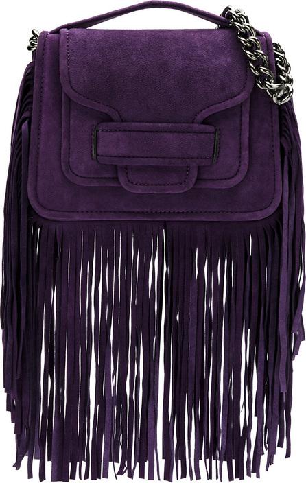 Andrea Bogosian Leather fringe bag