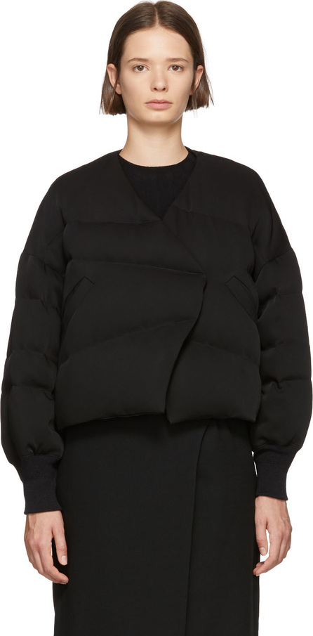 Enfold Black Short Millione Down Coat