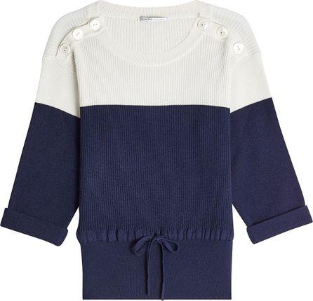 Agnona Color Block Cashmere Sweater