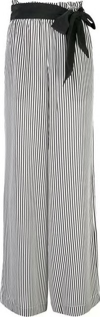 Asceno Striped Silk Pants