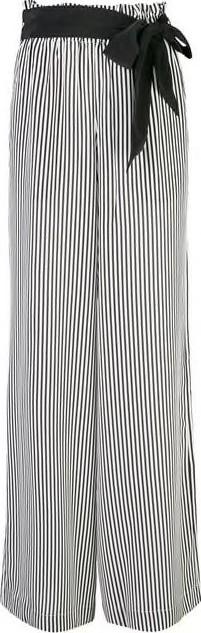 Asceno Striped Silk Pants