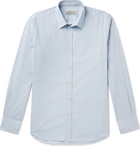 Canali Slim-Fit Puppytooth Cotton Shirt