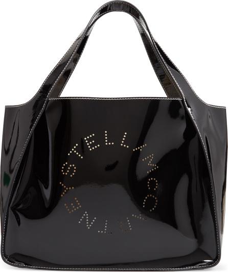 Stella McCartney Small Logo Faux Leather Tote