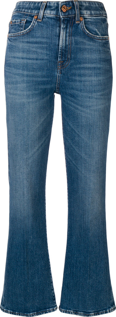 7 For All Mankind Flared cropped jeans
