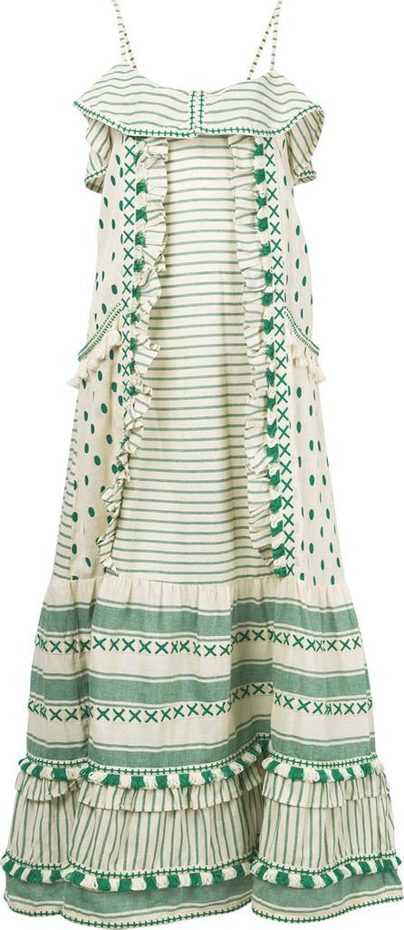 DODO BAR OR Striped maxi dress