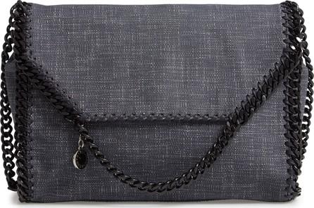 Stella McCartney Large Falabella Denim Shoulder Bag