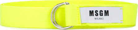 MSGM D-ring buckle belt