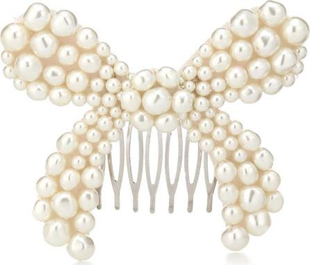 Simone Rocha Faux-pearl embellished barrette