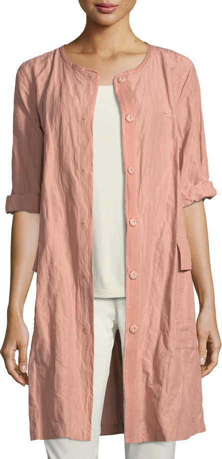 Eileen Fisher Rumpled Organic Cotton Jacket