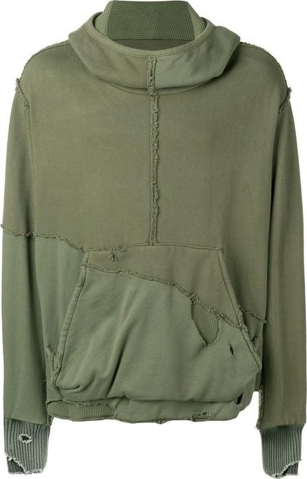 Greg Lauren Slouchy High Tech hoodie