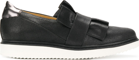 Geox Frilled design flat loafers
