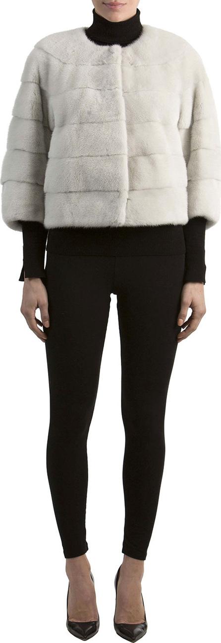 Gorski Mink Fur 3/4-Sleeve Jacket