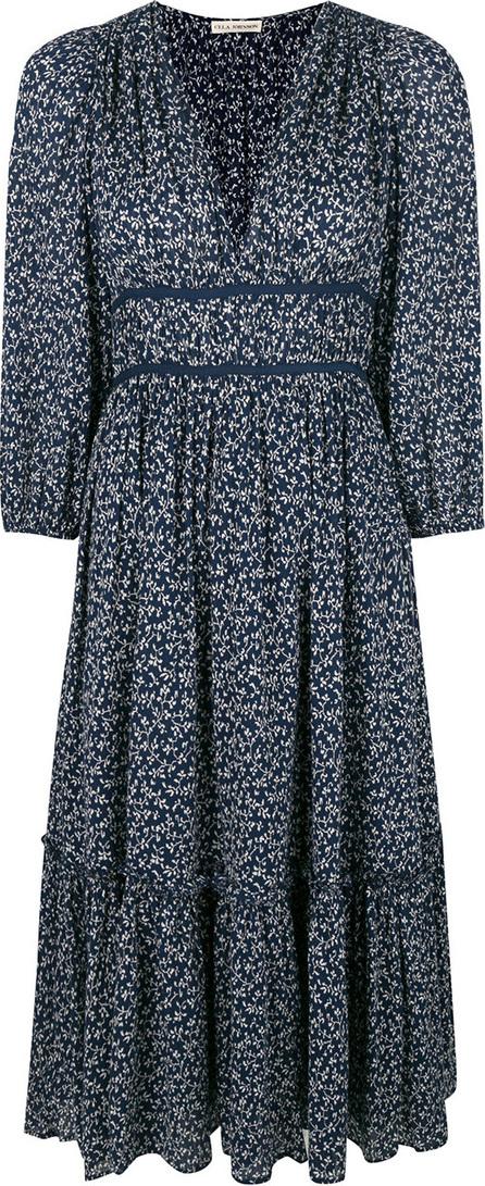 Ulla Johnson Floral print v-neck dress