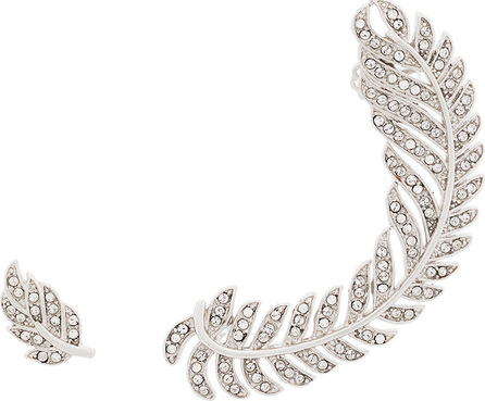 Federica Tosi Leaf stud and leaf ear cuff