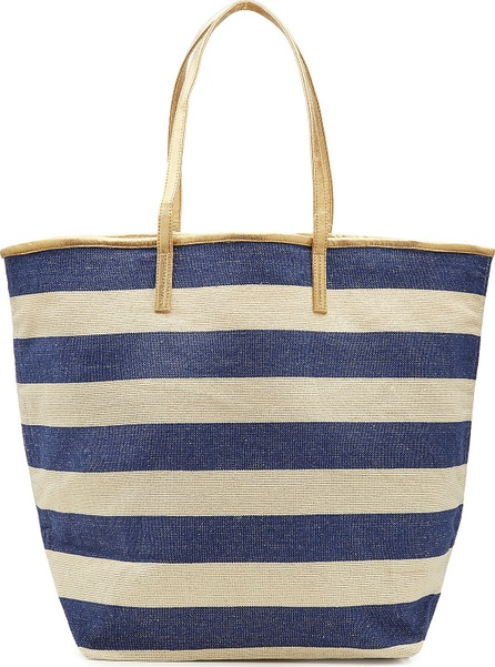 Star Mela Striped Canvas Tote