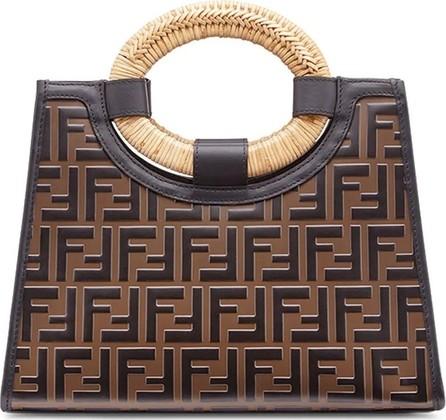 93d5cb6ade Fendi Fendi x Fila Brown Logo Print Tote Bag - Mkt