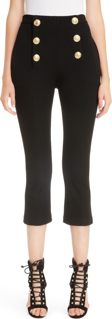 Balmain Button Crop Pants