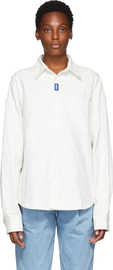 ADER error White Oxford TOD Shirt