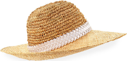 Gigi Burris Santiago Packable Straw Sun Hat