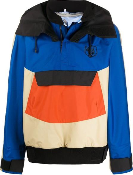 LOEWE Colour-block hooded jacket