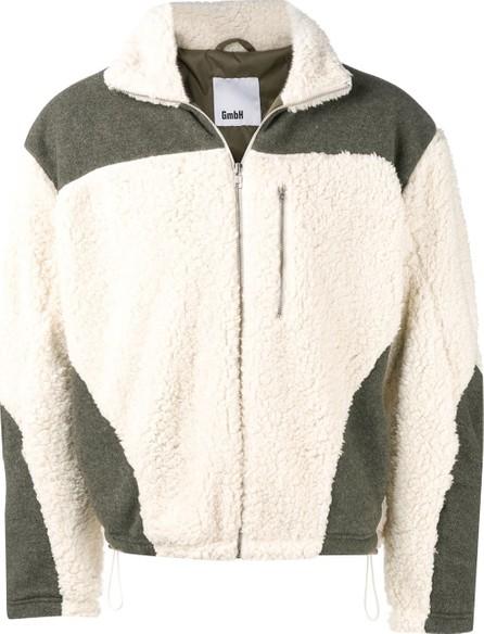 GmbH Panelled shearling coat