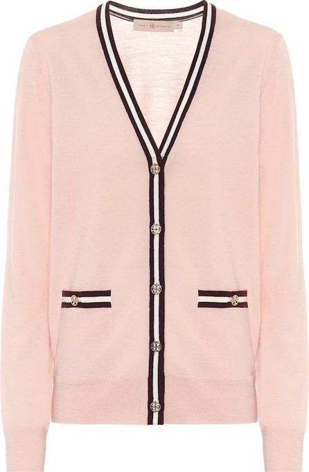 Tory Burch Merino-wool cardigan