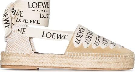 LOEWE Logo-print espadrilles