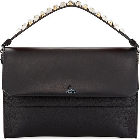 Christian Louboutin Loubiblues Paris Calf Clutch Bag