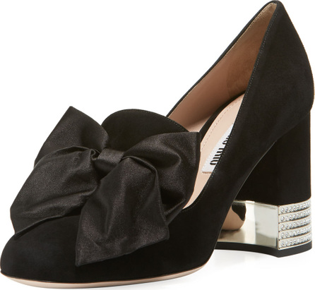 Miu Miu Decollete Pumps with Bow