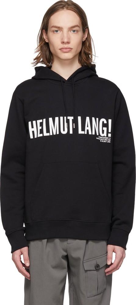 Helmut Lang Black Exclamation Hoodie