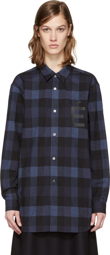 Etudes Blue Ombre Plug Shirt