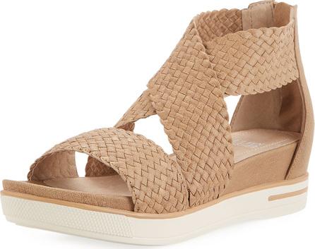 Eileen Fisher Sport Woven Platform Sandal